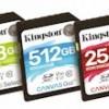Kingston Digital predstavlja novu 'Canvas' seriju memorijskih kartica
