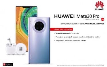 Predstavljamo Huawei Mate 30 Pro – konačno dostupan u Srbiji