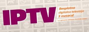 Tri meseca gratis digitalne televizije