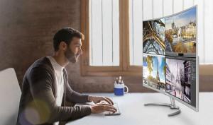 Philips MultiView opcija za prikazivanje cetiri razlicita sadrzaja istovremeno u Full HD rezoluciji