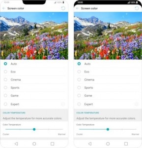 LG G7 ThinQ_Bright Display tehnologija