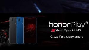 honor play audi