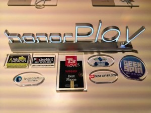 Honor Play awards