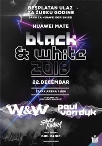 Huawei Mate Black & White