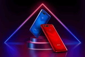Honor View20 redblue lifestyle