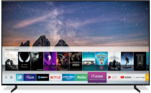 Samsung TV_iTunes Movies & TV Shows