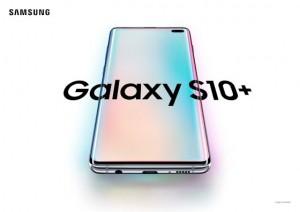 Galaxy S10+ Prism White