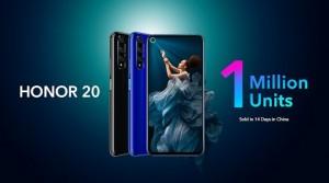 HONOR 20 Sales Performance