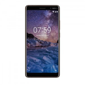 Nokia 7 plus Black Copper (4)