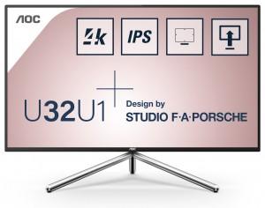 AOC U32U1 info zaslon