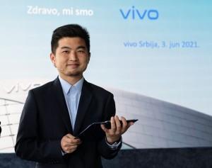 Anthony Zhang, vivo Srbija
