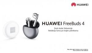 Početak prodaje novih Huawei slušalica