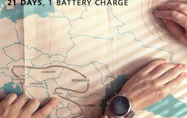 21 dan kroz Europu uz samo jedno punjenje baterije na Huawei Watch 3 Pro pametnom satu