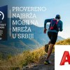 A1 provereno najbrža moblina mreža u Srbiji za 2021. godinu